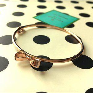 Kate Spade Rosegold Bow Bracelet